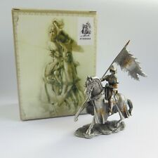 Veronese HISTORICAL KNIGHTS PEWTER FIGURE | Knight Pennant Myths & Legends