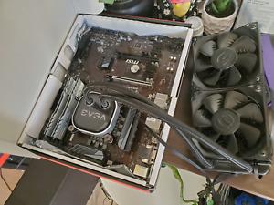 PC parts - Intel i7 8700k, Cpu cooler EVGA liquid cooler. and more