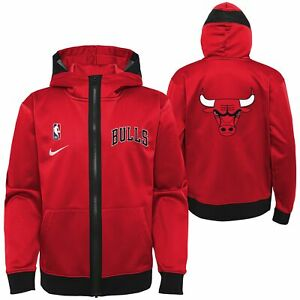 Nike NBA Youth (8-20) Chicago Bulls Lightweight Hooded Full Zip Jacket