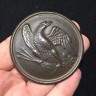 Authentic Union Civil War Eagle Breast Plate DUG Vicksburg NICE marked 1862