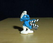 Smurfs Clapperboard Smurf Movie Film 2008 Vintage Figure PVC Toy Figurine 20710