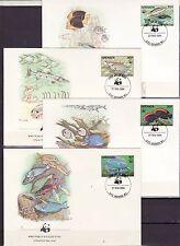 Grenada 1984 - FDC - Vissen/Fish/Fische (WWF / WNF)