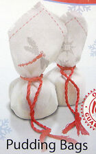 Christmas Pudding Bags – Semco counted cross-stitch kit