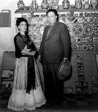 FRIDA KAHLO de Rivera 8x10 PHOTO Mexican Artist Painter Picture Mexico City
