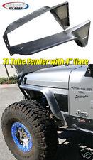"Gen-Right Jeep TJ, LJ Front 4"" Fender Flares Steel"