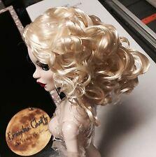 Doll WIG - Tonner Evangeline Ghastly ~ Black as Night Basic Parnilla ~ Blonde