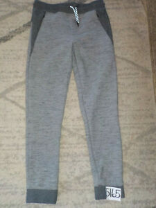 ( XL x 31 ) Univibe Youth Joggers Sweatpants Jogging Stretch Unisex Pants Gray