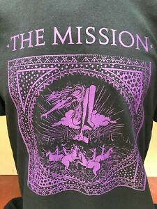 THE MISSION MENS ROCK MUSIC T SHIRT
