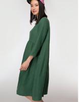 "🌱🍃🌱🍃 【New 】 Gorman Green ""GROWERS"" Linen Smock Curve Dress SZ 14 L"