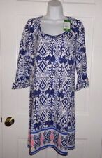 NWT LILLY PULITZER BRIGHT NAVY TONS OF FUN ENGINEERED OCEAN RIDGE DRESS XL