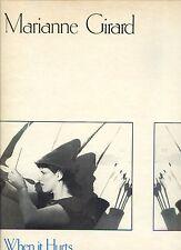 MARIANNE GIRARD when it hurts CANADA 1982 EX+  LP