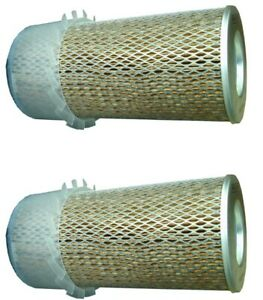 FITS TOYOTA FORKLIFT 17702-U3050-71 AIR FILTER SET OF 2 FOR  CATERPILLAR 9Y6841