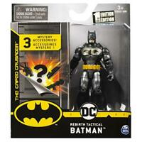 DC Batman Rebirth Tactical Batman 4-inch Action Figure by Spin Master