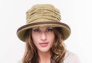 BRAND NEW LADIES WOOL TWEED OUTDOOR WINTER  CLOCHE CASUAL HAT BR73 ZARA