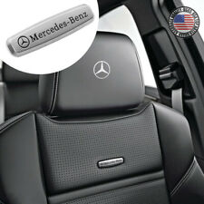 For Mercedes-Benz Sport Car Suv Front Seat Back AMG Performance Emblem 3D Badge