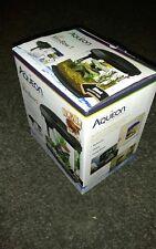 New listing Aqueon Products Led Minibow Aquarium Kit, 1 gallon, Black with flat heater. Used