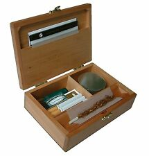 Wolf Productions T2L Deluxe Wooden Rolling Box  - Free UK P&P