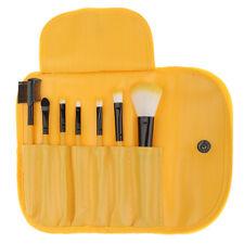 7Pcs Professional Soft Makeup EyeShadow Lashes Makeup Brush Set Pouch Case