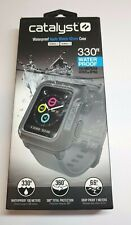 Catalyst Waterproof Case for 42mm Apple Watch Series 2, 3  BLACK / GRAY NEW