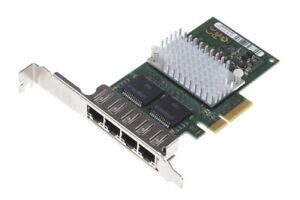 Fujitsu Quad-Port LAN Adapter // RJ-45/PCI-E // Full Profile // D2745-A11 GS3