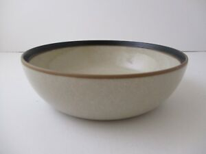 "DANSK LEANO BROWN CEREAL/ SOUP BOWL 6 5/8"" -1001A"