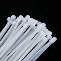 Sealey Cable Tie Plastic Assortment White Pack of 60 100 / 200 / 250/300 /350