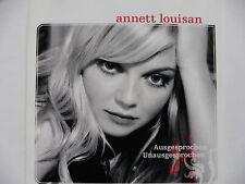 Annett Louisan Ausgesprochen Unausgesprochen Promo Maxi - CD 2 Tracks 2006 rar!!