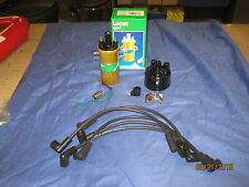 MG MGB C/B 45D DISSY CAP ,POINTS, CONDENSOR, ROTOR, LEADS 12VOLT  SPORTS COIL