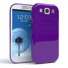 Funda protectora para Samsung Galaxy s3/Neo brushed cover móvil, funda lila