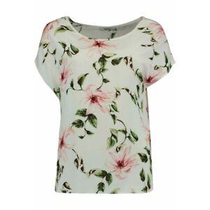 HAILYS Damen-Shirt > FIONA<  mit floralen Drucke Kurzarm