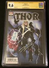 Thor #1 CGC SS 9.6 Signed by Donny Cates