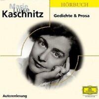 MARIE LUISE KASCHNITZ - GEDICHTE & PROSA-LANGE SCHATTEN  CD NEW