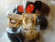 "Lot of LaSioux, Westrim and other wigs for size 12""- 18"" dolls in var. colors #3"