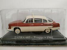 1/43 tatra 603 prague taxi car 1961 scale metal