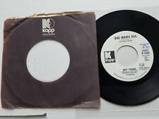 "ROY YOUNG - Wild Country Wine / Rag Mama Rag PROMO 1972 FUNK ROCK 7"" Kapp"