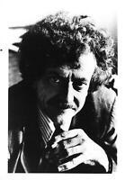 Vintage Press Photo Headshot KURT VONNEGUT Curly Hair Tie Suit Writer Author kg