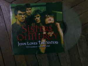 SISTERS OF MERCY Jesus loves the sisters LP Live London 83 vinyl couleur