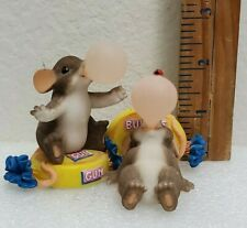 Fitz Floyd Charming Tails Bubbly Good Friends Gift Bubble Gum Mouse