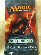 Magic MTG Factory Sealed 2012 Core Set 15-Card Booster Pack English Edition