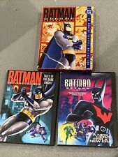 Batman The Animated Series Vol 1 3 DVD LOT  Tales Of The Dark Knight Beyond Mov