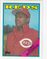 1988 TOPPS...LLOYD McCLENDON...NRMT...# 172...REDS...FREE COMBINED SHIPPING