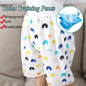 Diaper Skirt Shorts Cotton Bamboo Fiber Toilet Training Pants Anti Bed-wetting
