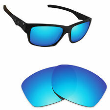 Hawkry Polarized Replacement Lenses for-Oakley Jupiter Squared Sunglass Ice Blue