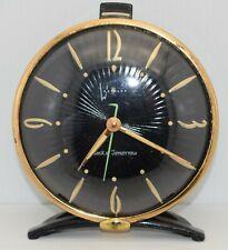 WESTCLOX ~ CLOCK of TOMORROW ~ Made in USA ~ Vintage 1950's RARE Retro Alarm