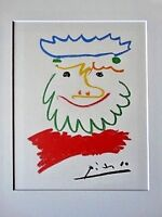PABLO PICASSO LIMITED EDITION  LITHOGRAPH CREATED 1965