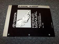 1995 1996 1997 Toyota Previa A46DE Transmission Shop Service Repair Manual
