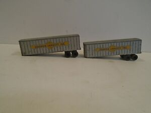 Matchbox Major Pack #9 Interstate Double Freighter - Vintage 1960s Lesney