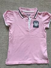 Designer Guess Kids Polo Pink T Shirt 8y