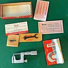 Starrett No220ap 1 Multi Anvil Outside Micrometer 001