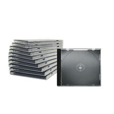 100 Jewelcase CD DVD Hülle Leerhüllen leere Box Sinle 1 Fach 100er Pack